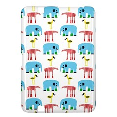 Animals Elephants Giraffes Bird Cranes Swan Kindle Fire Hd 8 9  by Mariart