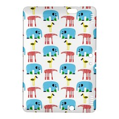 Animals Elephants Giraffes Bird Cranes Swan Kindle Fire HDX 8.9  Hardshell Case by Mariart