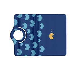 Blue Fish Sea Beach Swim Yellow Predator Water Kindle Fire Hd (2013) Flip 360 Case by Mariart