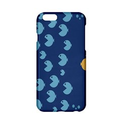 Blue Fish Sea Beach Swim Yellow Predator Water Apple Iphone 6/6s Hardshell Case by Mariart