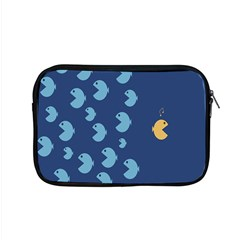 Blue Fish Sea Beach Swim Yellow Predator Water Apple Macbook Pro 15  Zipper Case by Mariart