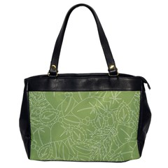 Blender Greenery Leaf Green Office Handbags by Mariart