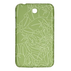 Blender Greenery Leaf Green Samsung Galaxy Tab 3 (7 ) P3200 Hardshell Case  by Mariart