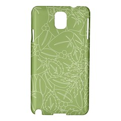 Blender Greenery Leaf Green Samsung Galaxy Note 3 N9005 Hardshell Case by Mariart