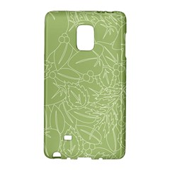 Blender Greenery Leaf Green Galaxy Note Edge by Mariart