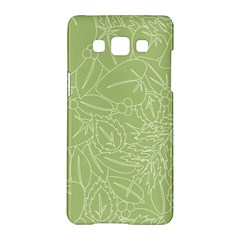 Blender Greenery Leaf Green Samsung Galaxy A5 Hardshell Case  by Mariart