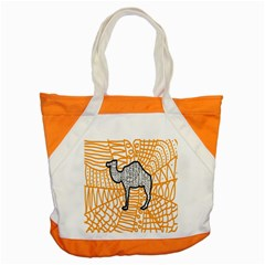 Animals Camel Animals Deserts Yellow Accent Tote Bag by Mariart