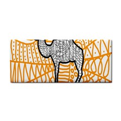 Animals Camel Animals Deserts Yellow Cosmetic Storage Cases by Mariart