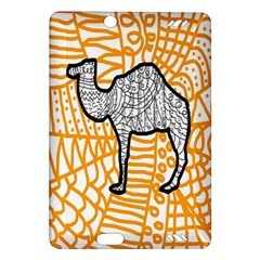 Animals Camel Animals Deserts Yellow Amazon Kindle Fire Hd (2013) Hardshell Case by Mariart