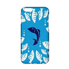 Blue Fish Tuna Sea Beach Swim White Predator Water Apple Iphone 6/6s Hardshell Case by Mariart