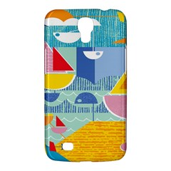 Boats Ship Sea Beach Samsung Galaxy Mega 6 3  I9200 Hardshell Case by Mariart
