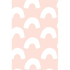 Donut Rainbows Beans Pink 5 5  X 8 5  Notebooks by Mariart
