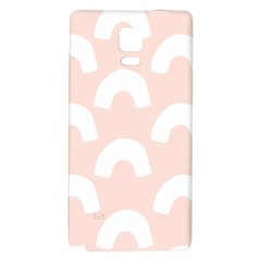 Donut Rainbows Beans Pink Galaxy Note 4 Back Case by Mariart