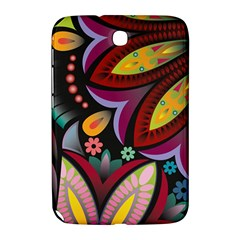 Flower Floral Sunflower Rose Color Rainbow Circle Polka Samsung Galaxy Note 8 0 N5100 Hardshell Case  by Mariart