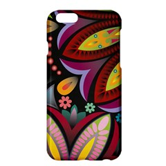 Flower Floral Sunflower Rose Color Rainbow Circle Polka Apple Iphone 6 Plus/6s Plus Hardshell Case by Mariart