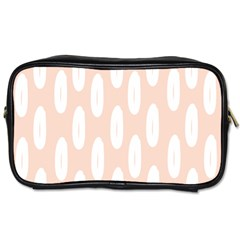 Donut Rainbows Beans White Pink Food Toiletries Bags by Mariart