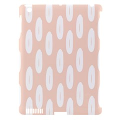 Donut Rainbows Beans White Pink Food Apple Ipad 3/4 Hardshell Case (compatible With Smart Cover) by Mariart