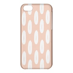 Donut Rainbows Beans White Pink Food Apple Iphone 5c Hardshell Case by Mariart