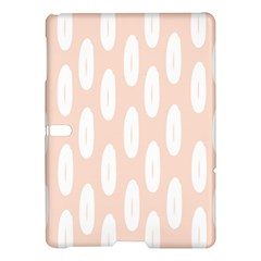 Donut Rainbows Beans White Pink Food Samsung Galaxy Tab S (10 5 ) Hardshell Case  by Mariart