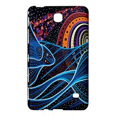 Fish Out Of Water Monster Space Rainbow Circle Polka Line Wave Chevron Star Samsung Galaxy Tab 4 (8 ) Hardshell Case  by Mariart