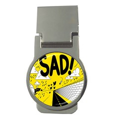 Have Meant  Tech Science Future Sad Yellow Street Money Clips (round)  by Mariart