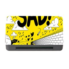 Have Meant  Tech Science Future Sad Yellow Street Memory Card Reader With Cf