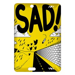 Have Meant  Tech Science Future Sad Yellow Street Amazon Kindle Fire Hd (2013) Hardshell Case by Mariart