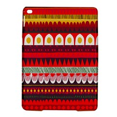 Fabric Aztec Red Line Polka Circle Wave Chevron Star Ipad Air 2 Hardshell Cases by Mariart