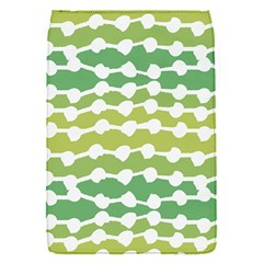 Polkadot Polka Circle Round Line Wave Chevron Waves Green White Flap Covers (s)  by Mariart