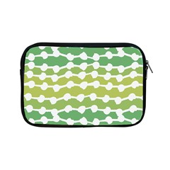 Polkadot Polka Circle Round Line Wave Chevron Waves Green White Apple Ipad Mini Zipper Cases by Mariart