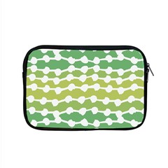 Polkadot Polka Circle Round Line Wave Chevron Waves Green White Apple Macbook Pro 15  Zipper Case by Mariart