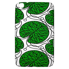 Leaf Green Samsung Galaxy Tab 3 (8 ) T3100 Hardshell Case  by Mariart