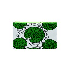 Leaf Green Cosmetic Bag (xs) by Mariart