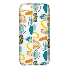 Pebbles Texture Mid Century Apple Iphone 5c Hardshell Case by Mariart