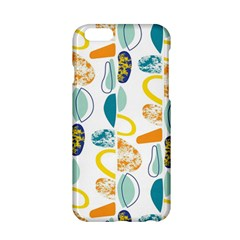 Pebbles Texture Mid Century Apple Iphone 6/6s Hardshell Case by Mariart