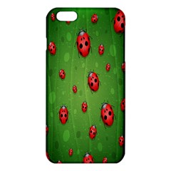 Ladybugs Red Leaf Green Polka Animals Insect Iphone 6 Plus/6s Plus Tpu Case by Mariart