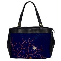 Sea Ocean Beach Swim Fish Wave Waves Chevron Blue Water Office Handbags by Mariart