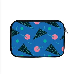 Seamless Triangle Circle Blue Waves Pink Apple Macbook Pro 15  Zipper Case by Mariart