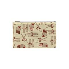 Sheep Goats Paper Scissors Cosmetic Bag (small)