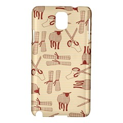 Sheep Goats Paper Scissors Samsung Galaxy Note 3 N9005 Hardshell Case by Mariart