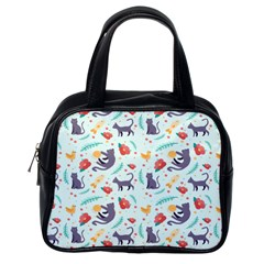 Redbubble Animals Cat Bird Flower Floral Leaf Fish Classic Handbags (one Side) by Mariart