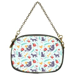 Redbubble Animals Cat Bird Flower Floral Leaf Fish Chain Purses (two Sides)  by Mariart