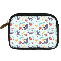 Redbubble Animals Cat Bird Flower Floral Leaf Fish Digital Camera Cases by Mariart