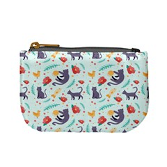 Redbubble Animals Cat Bird Flower Floral Leaf Fish Mini Coin Purses by Mariart