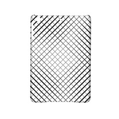 Simple Pattern Waves Plaid Black White Ipad Mini 2 Hardshell Cases by Mariart