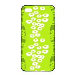Sunflower Green Apple Iphone 4/4s Seamless Case (black) by Mariart