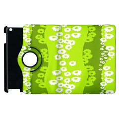 Sunflower Green Apple Ipad 3/4 Flip 360 Case by Mariart