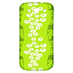 Sunflower Green Samsung Galaxy S3 S Iii Classic Hardshell Back Case by Mariart