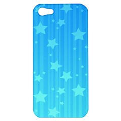 Star Blue Sky Space Line Vertical Light Apple Iphone 5 Hardshell Case by Mariart