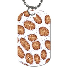 Formalin Paraffin Human Stomach Stained Bacteria Brown Dog Tag (one Side) by Mariart